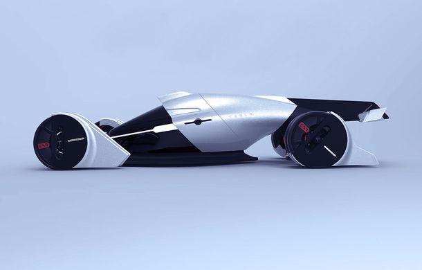Tesla T1: conceptul inedit pentru Cursa de 24 de ore de la Le Mans are 1.340 de cai putere și atinge peste 400 km/h - Poza 2