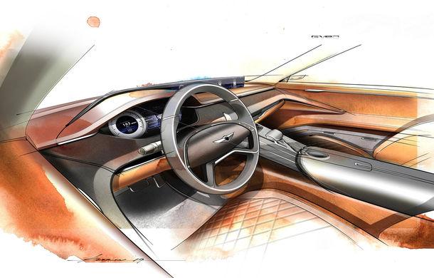 Hyundai și brandul său premium Genesis cochetează cu ideea unui SUV premium: GV80 Concept ar putea rivaliza cu BMW X5 - Poza 16