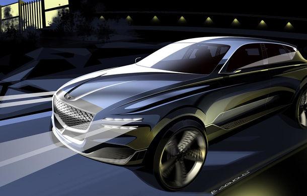Hyundai și brandul său premium Genesis cochetează cu ideea unui SUV premium: GV80 Concept ar putea rivaliza cu BMW X5 - Poza 7