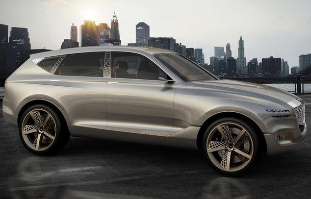 Hyundai și brandul său premium Genesis cochetează cu ideea unui SUV premium: GV80 Concept ar putea rivaliza cu BMW X5 - Poza 20