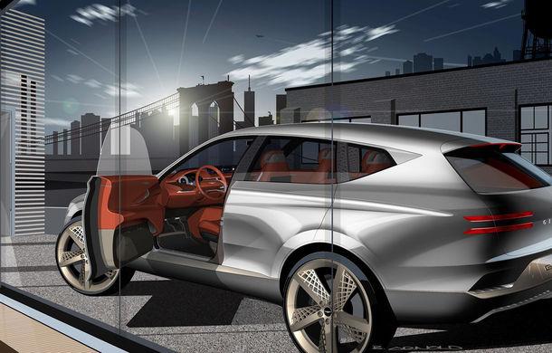 Hyundai și brandul său premium Genesis cochetează cu ideea unui SUV premium: GV80 Concept ar putea rivaliza cu BMW X5 - Poza 8