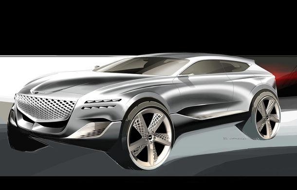 Hyundai și brandul său premium Genesis cochetează cu ideea unui SUV premium: GV80 Concept ar putea rivaliza cu BMW X5 - Poza 10