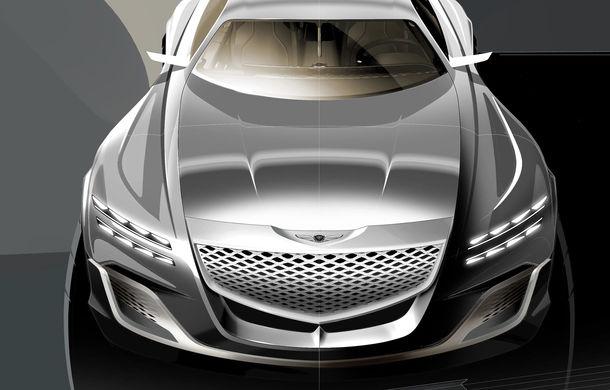 Hyundai și brandul său premium Genesis cochetează cu ideea unui SUV premium: GV80 Concept ar putea rivaliza cu BMW X5 - Poza 12