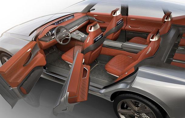 Hyundai și brandul său premium Genesis cochetează cu ideea unui SUV premium: GV80 Concept ar putea rivaliza cu BMW X5 - Poza 17