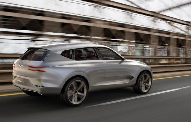 Hyundai și brandul său premium Genesis cochetează cu ideea unui SUV premium: GV80 Concept ar putea rivaliza cu BMW X5 - Poza 3