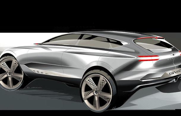 Hyundai și brandul său premium Genesis cochetează cu ideea unui SUV premium: GV80 Concept ar putea rivaliza cu BMW X5 - Poza 11