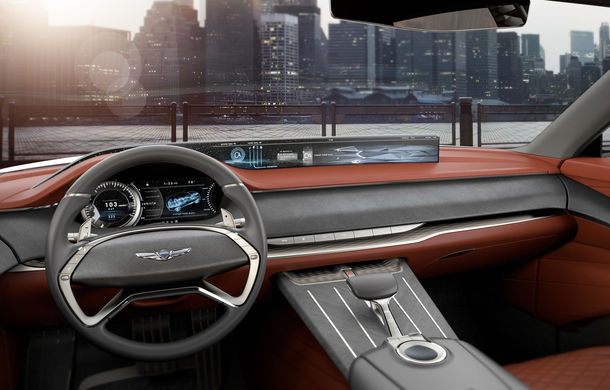 Hyundai și brandul său premium Genesis cochetează cu ideea unui SUV premium: GV80 Concept ar putea rivaliza cu BMW X5 - Poza 18