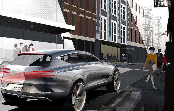 Hyundai și brandul său premium Genesis cochetează cu ideea unui SUV premium: GV80 Concept ar putea rivaliza cu BMW X5 - Poza 9