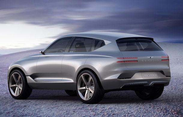 Hyundai și brandul său premium Genesis cochetează cu ideea unui SUV premium: GV80 Concept ar putea rivaliza cu BMW X5 - Poza 2