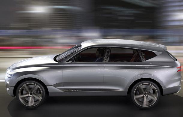 Hyundai și brandul său premium Genesis cochetează cu ideea unui SUV premium: GV80 Concept ar putea rivaliza cu BMW X5 - Poza 4