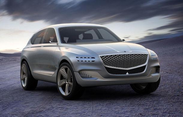 Hyundai și brandul său premium Genesis cochetează cu ideea unui SUV premium: GV80 Concept ar putea rivaliza cu BMW X5 - Poza 1