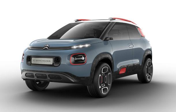 Citroen anunță ofensiva pentru SUV-uri: C3 Aircross și C5 Aircross vor sosi în Europa până în 2018 alături de noua generație C5 - Poza 1