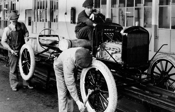 Ford sărbătorește 104 ani de la inaugurarea primei sale linii de productie - Poza 1