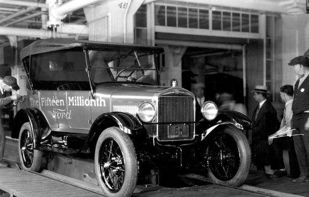 Ford sărbătorește 104 ani de la inaugurarea primei sale linii de productie - Poza 9