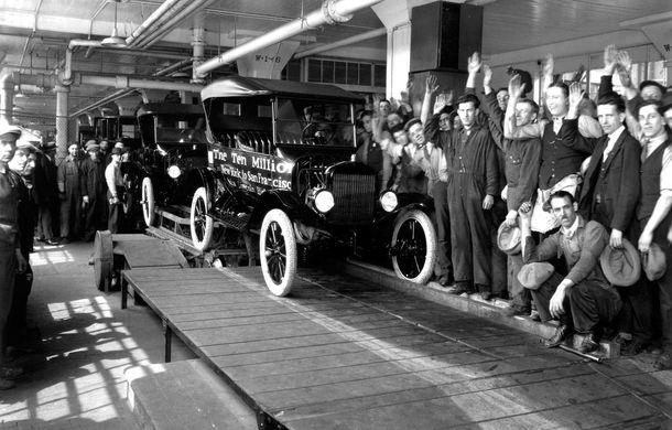 Ford sărbătorește 104 ani de la inaugurarea primei sale linii de productie - Poza 10
