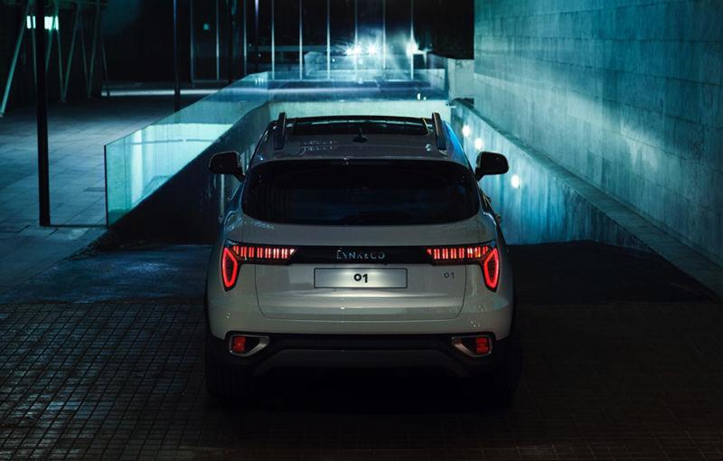 Primele imagini cu Lynk&Co 01 și 03 Concept: noul brand auto al lui Geely oferă garanție pe viață și internet gratuit - Poza 4
