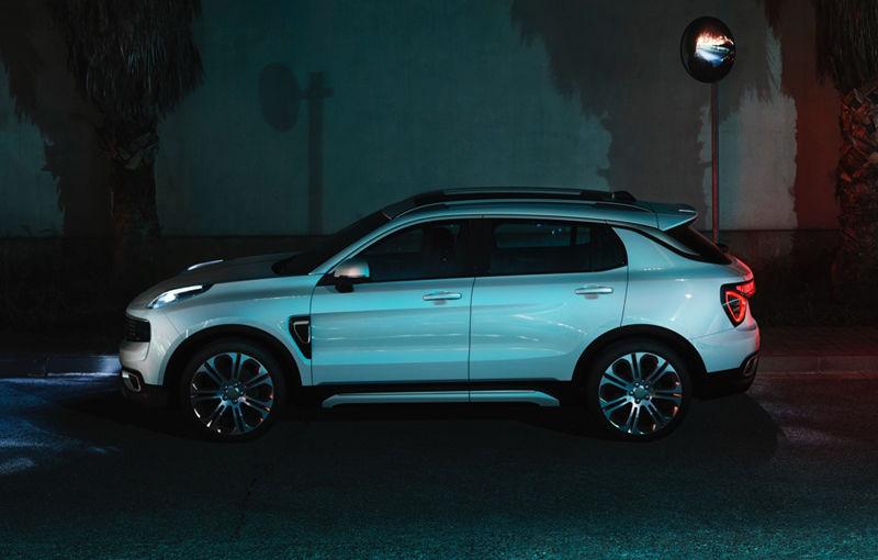 Primele imagini cu Lynk&Co 01 și 03 Concept: noul brand auto al lui Geely oferă garanție pe viață și internet gratuit - Poza 3