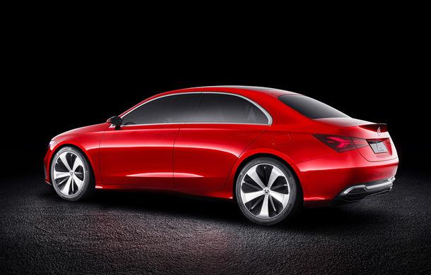 Mercedes Concept A Sedan: După CLA, Mercedes anunță încă un sedan compact cu alură de coupe - Poza 6