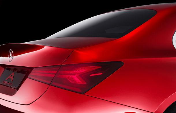 Mercedes Concept A Sedan: După CLA, Mercedes anunță încă un sedan compact cu alură de coupe - Poza 9