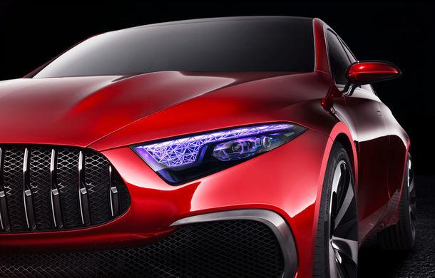 Mercedes Concept A Sedan: După CLA, Mercedes anunță încă un sedan compact cu alură de coupe - Poza 10