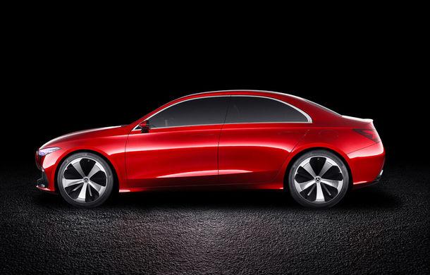 Mercedes Concept A Sedan: După CLA, Mercedes anunță încă un sedan compact cu alură de coupe - Poza 8