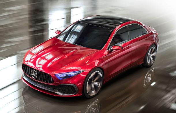 Mercedes Concept A Sedan: După CLA, Mercedes anunță încă un sedan compact cu alură de coupe - Poza 2