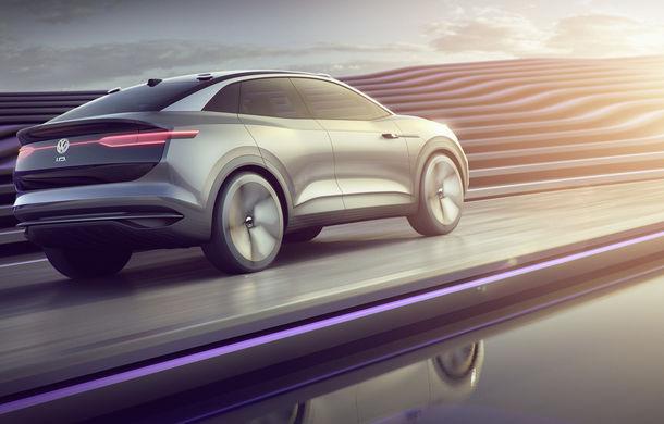 Volkswagen continuă seria conceptelor electrice din gama ID: noul Crozz este un SUV electric cu autonomie de 500 de kilometri - Poza 14