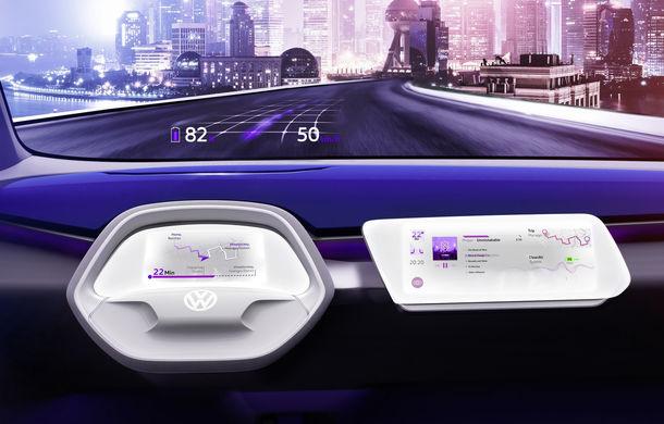 Volkswagen continuă seria conceptelor electrice din gama ID: noul Crozz este un SUV electric cu autonomie de 500 de kilometri - Poza 26