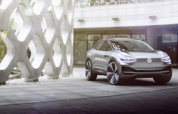 Volkswagen continuă seria conceptelor electrice din gama ID: noul Crozz este un SUV electric cu autonomie de 500 de kilometri - Poza 8