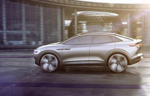 Volkswagen continuă seria conceptelor electrice din gama ID: noul Crozz este un SUV electric cu autonomie de 500 de kilometri - Poza 10