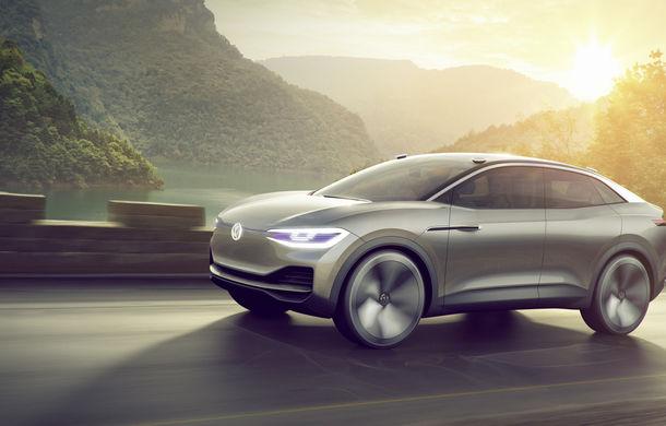 Volkswagen continuă seria conceptelor electrice din gama ID: noul Crozz este un SUV electric cu autonomie de 500 de kilometri - Poza 13