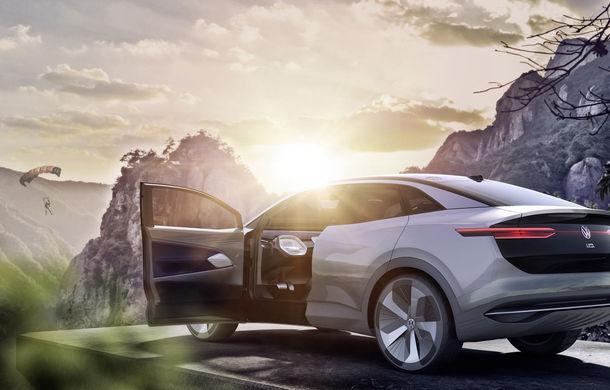 Volkswagen continuă seria conceptelor electrice din gama ID: noul Crozz este un SUV electric cu autonomie de 500 de kilometri - Poza 16