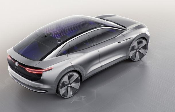 Volkswagen continuă seria conceptelor electrice din gama ID: noul Crozz este un SUV electric cu autonomie de 500 de kilometri - Poza 6
