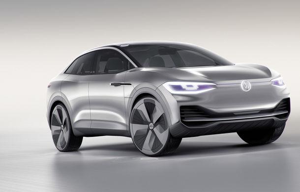 Volkswagen continuă seria conceptelor electrice din gama ID: noul Crozz este un SUV electric cu autonomie de 500 de kilometri - Poza 2