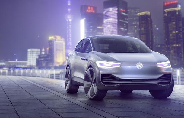 Volkswagen continuă seria conceptelor electrice din gama ID: noul Crozz este un SUV electric cu autonomie de 500 de kilometri - Poza 5