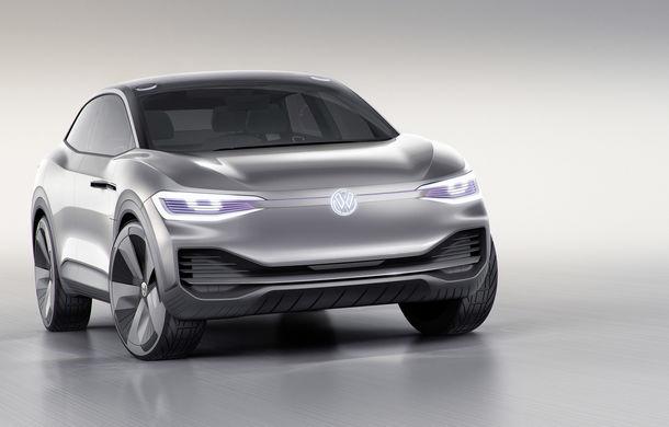 Volkswagen continuă seria conceptelor electrice din gama ID: noul Crozz este un SUV electric cu autonomie de 500 de kilometri - Poza 27