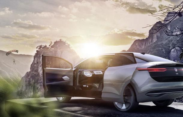 Volkswagen continuă seria conceptelor electrice din gama ID: noul Crozz este un SUV electric cu autonomie de 500 de kilometri - Poza 17