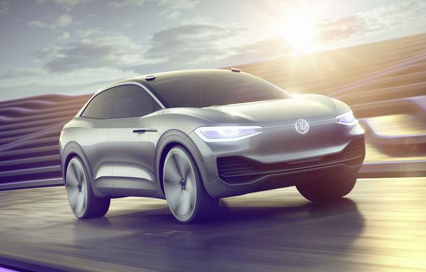 Volkswagen continuă seria conceptelor electrice din gama ID: noul Crozz este un SUV electric cu autonomie de 500 de kilometri - Poza 1