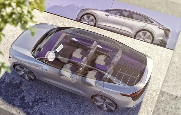 Volkswagen continuă seria conceptelor electrice din gama ID: noul Crozz este un SUV electric cu autonomie de 500 de kilometri - Poza 18