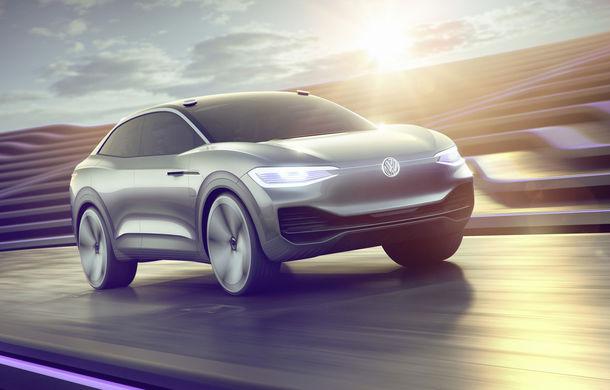 Volkswagen continuă seria conceptelor electrice din gama ID: noul Crozz este un SUV electric cu autonomie de 500 de kilometri - Poza 11