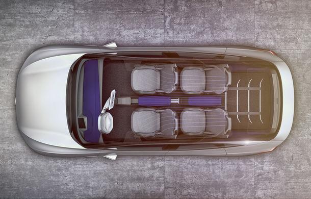 Volkswagen continuă seria conceptelor electrice din gama ID: noul Crozz este un SUV electric cu autonomie de 500 de kilometri - Poza 21