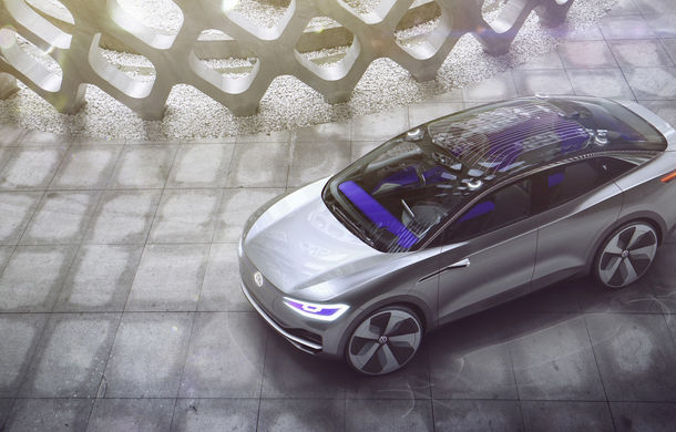 Volkswagen continuă seria conceptelor electrice din gama ID: noul Crozz este un SUV electric cu autonomie de 500 de kilometri - Poza 9