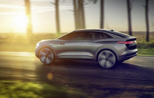 Volkswagen continuă seria conceptelor electrice din gama ID: noul Crozz este un SUV electric cu autonomie de 500 de kilometri - Poza 12