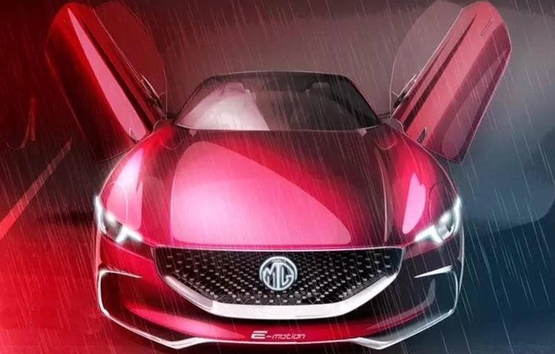 Englezii visează cu ochii deschiși: brandul MG s-ar putea întoarce acasă cu un model sportiv, rival al lui Tesla Model S - Poza 1