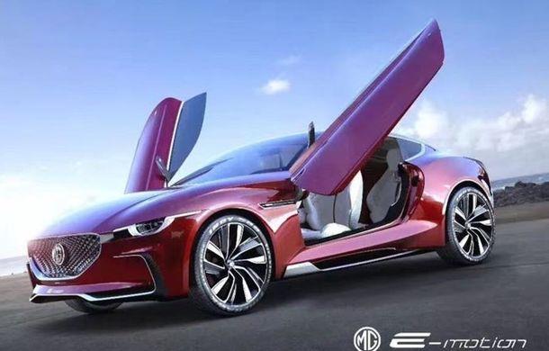 Englezii visează cu ochii deschiși: brandul MG s-ar putea întoarce acasă cu un model sportiv, rival al lui Tesla Model S - Poza 2