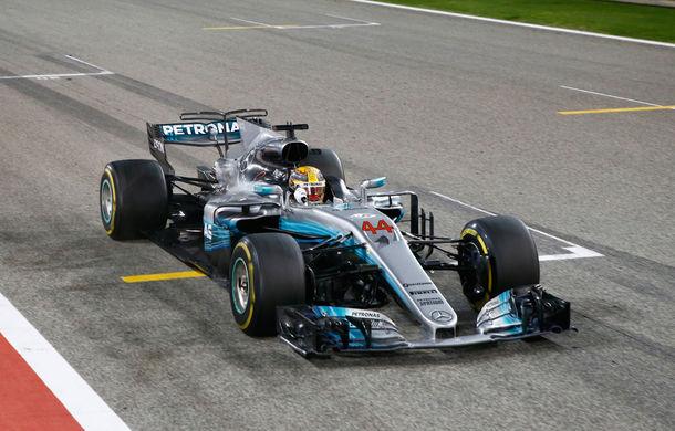Hamilton, cel mai rapid în prima zi de teste din Bahrain, afectată de numeroase probleme la motor pentru echipe - Poza 1