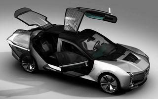 Ce se naște când amesteci designul chinezesc cu tehnologia suedeză: Qoros K-EV este un concept cu uși care se deschid ciudat, dar cu 870 de cai oferiți de Koenigsegg