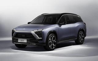 """Nio ES8: SUV electric cu 7 locuri la care vei putea schimba bateria """"printr-o experiență mai plăcută decât un plin de benzină"""""""