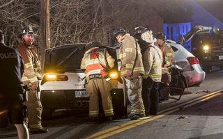 Fast and Furious în versiune domestică: un american a cauzat două accidente în 7 minute la volanul propriului Corvette