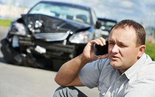 Proiect: companiile de asigurări vor fi obligate să acorde asistență pentru șoferi în urma accidentelor